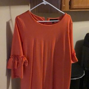 Cantaloupe swing dress